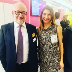 With David Roche, Chairman of The London Book Fair