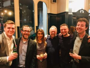 With my publishers & fellow Endeavour crime writers